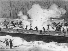 1st of March, 1881, St. Petersburg, Russia, depicting the attack on Alexander II's carriage.