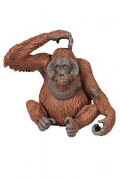 Papo Orangutan at theBIGzoo.com, a family-owned gift shop with 12,000+ animal-themed items.