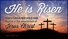 Free He is Risen eCard - eMail Free Personalized Easter Cards Online    Hopefully Deb this fines it way to you, called the MDA office