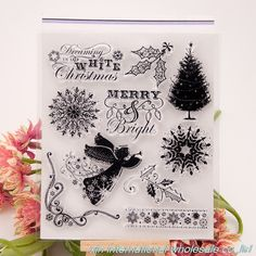 embossing folders encre scrapbooking ACRYLIC VINTAGE clear stamps FOR PHOTO SCRAPBOOKING stamp clear stamps for scrapbooking 54