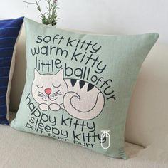 The Big Bang Theory throw pillow soft kitty animal cat sofa cushions