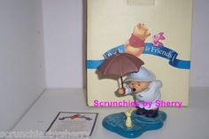 Disney Winnie the Pooh We'll share forever whatever the weather Figurine MIB