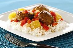 Polynesian Glazed Meatballs recipe - These sweet and savory glazed meatballs are sure to become everyone's new weeknight favorite!