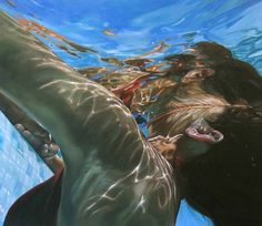 Super Realism Women Paintings By Eric Zener
