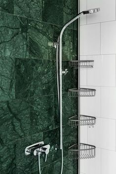 Retro Square Tile Trend For Bathroom Walls And Floor large green marble bathroom tiles