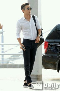 Super Junior - Siwon #airportfashion #2014