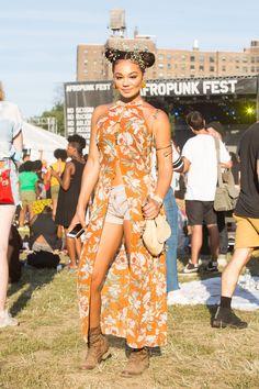 flowerpuff #afropunk