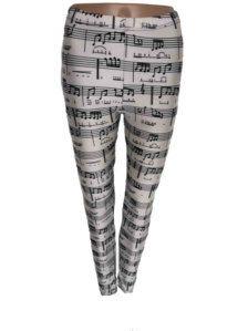 Musical Notes Leggings