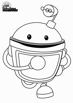 Team Umizoomi Colouring Pages Page 2