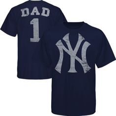 Yankees #1 Dad Father's Day T-Shirt