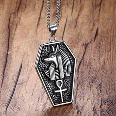 "14k Gold Khepri Scarab Beetle Egyptian Pendant 24/"" Rope Chain Necklace ANKH"