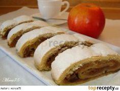 Křehký jablečný závin :: Táňulčino tvoření Strudel, Bagel, Pancakes, Bread, Breakfast, Desserts, Recipes, Food, Vip