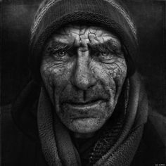 Photography by Lee Jeffries. The true face of the forgotten of this society