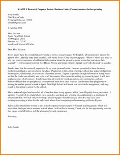 Business Proposal Letter Doc  Useful Document Samples