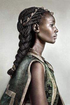 "Malika: ""Queen; feminine form of Malek, melanin King"". She is one of the warriors of the water Bender's clan."