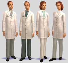 lab coat defaults