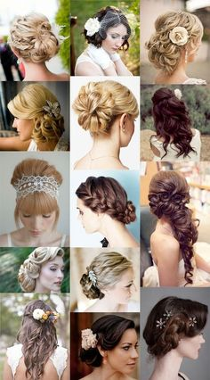 Variety of Inspired Hairstyles for Wedding...