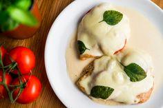 Mozzarellás csirke recept