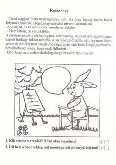 Szövegértés gyakorlásához feladatlapok, 2. osztály - kossuthsuli.lapunk.hu Bingo, Worksheets, Printables, Album, Teaching, Comics, School, Archive, Diy