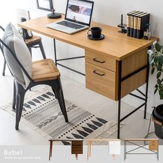 Home Office, Office Desk, Small Space Office, Small Apartments, Corner Desk, Woodworking, Interior, House, Furniture