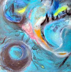 """Saatchi Art Artist Anna Corti; Painting, """"kaos in movimento"""" #art"""