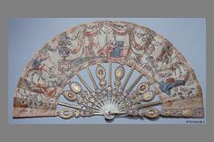 Folding fan, French.  You could find some fans as hobby stores, although they may not be as intricate as this one!