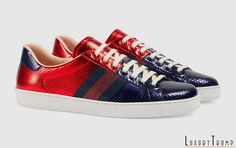 cb531273416 Gucci Ace Sneakers Cruise 2017 Collection  Luxury  Fashion  Gucci Gucci Ace  Sneakers
