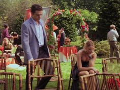 Rufus and Lily wedding  Gossip Girl hopa flowers Serena and Carter