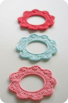 crochet frames!