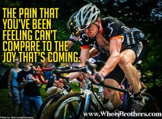 That is so true! I love this site.... so much motivation! #cycling #fitness #inspiration #motivation