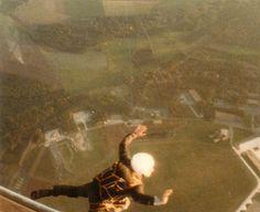 Mein größtes Abenteuer 1985-90  Fallschirmspringen - Freier Fall 86