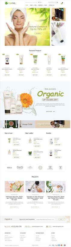 Organic is the beautiful and fully responsive #Magento #template for stunning eCommerce #store website #webdev with 6 unique homepage layouts download now➩ https://themeforest.net/item/organica-organic-beauty-natural-cosmetics-food-farn-and-eco-magento-theme/18659746?ref=Datasata