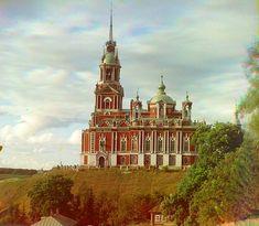 Mozhaisk Nikolaevskii Cathedral - Sergei Mikhailovich Prokudin-Gorskii