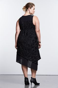Paired with a chic ankle bootie, a high-low hem is a modern twist on an empire-waist dress. Find the Simply Noir collection of little black dresses from Simply Vera Vera Wang, only at Kohl's. Available in women, women's plus and petites.