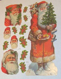 German Victorian Large Father Christmas Santa by TheWisdomTree