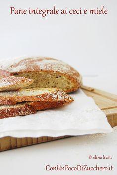 No knead bread ai ceci e miele