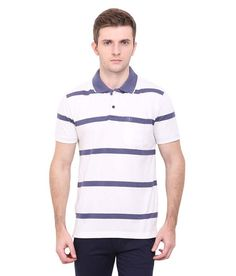 Duke Multi Regular Fit Polo T Shirt  available at snapdeal for Rs.725