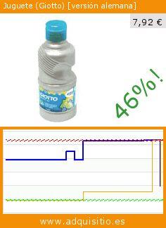 Juguete (Giotto) [versión alemana] (Juguete). Baja 46%! Precio actual 7,92 €, el precio anterior fue de 14,65 €. https://www.adquisitio.es/giotto/juguete-versi%C3%B3n-alemana-0