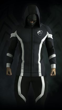 What& not to love about this Venom inspired activewear piece is part of Fantasy art men - Mode Man, Futuristic Armour, Mode Costume, New Mode, Fantasy Art Men, Cosplay Armor, Cyberpunk Fashion, Superhero Design, Suit Of Armor