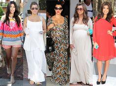Kourtney Kardashian, Pregnancy Style