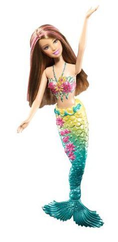 Barbie Green Color Change Mermaid Doll Barbie http://smile.amazon.com/dp/B004CFBYFO/ref=cm_sw_r_pi_dp_yO03ub1DV8F5F
