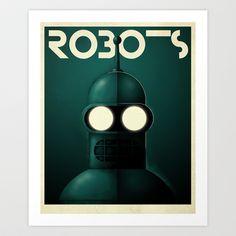 Robots - Bender by Greg-Guillemin