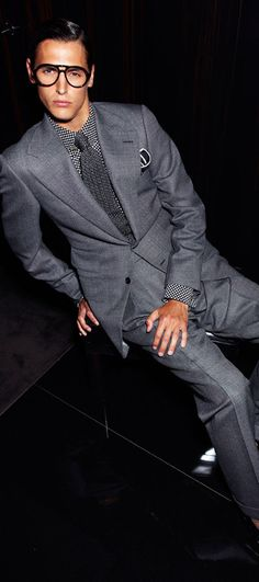 Tom Ford men's spring 2012 suit