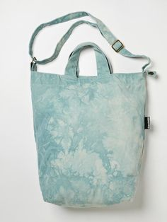 Recycled Tie-Dye Canvas Bags Worth Bragging About : TreeHugger