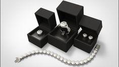 Elizabeth Collection - Vintage Crossover Halo Diamond Jewellery Set
