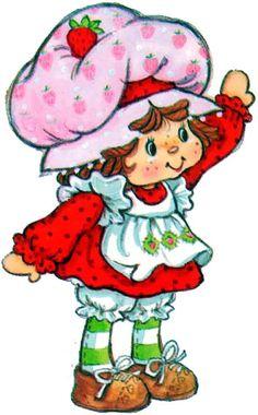 Strawberry Shortcake Characters, Vintage Strawberry Shortcake, Cartoon Pics, Cartoon Characters, Clipart, Images Noêl Vintages, Vintage Images, Rainbow Brite, Holly Hobbie