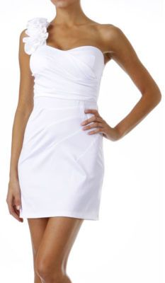 Love this as a wedding rehearsal dress or for the bachelorette party.