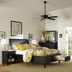 Avalon 6 Piece Queen Storage Bedroom Set Bedroom Sets Pinterest Storage Queen Bedroom And