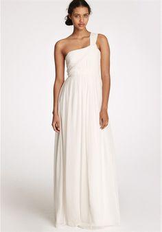 jcrew wedding dress.  love it
