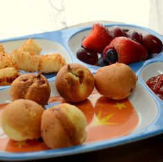 CORN DOG CAKE POPS RECIPE:  I tried this recipe and I thought it was very good, but it needed at least 3 or 4 hot dogs instead of 2.  YUMMY!